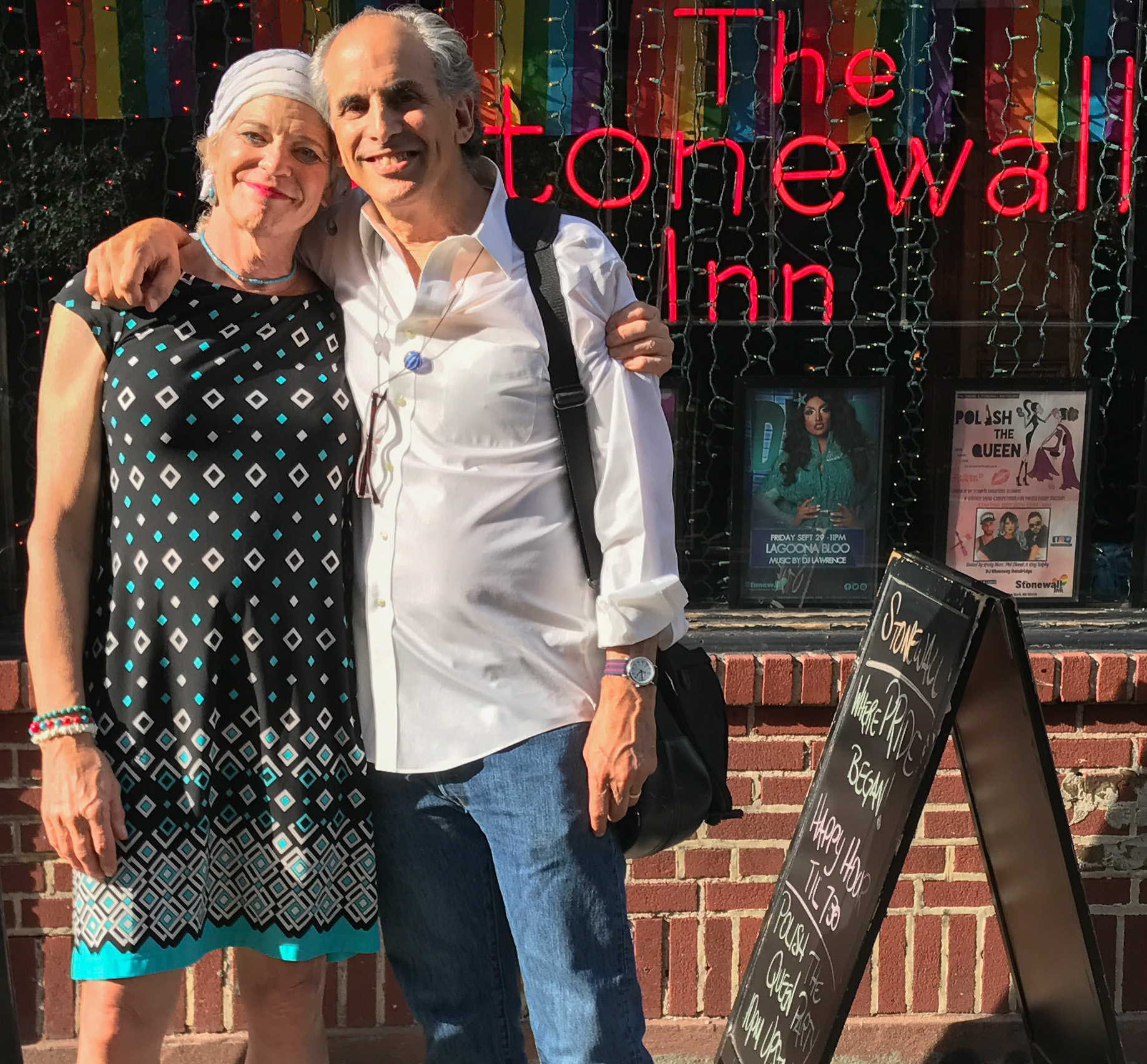 Jamie & Roger at Stonewall
