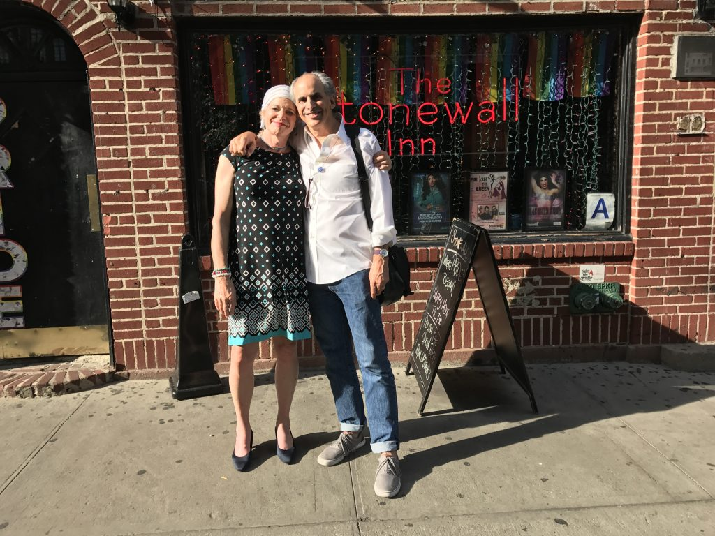 Jamie and Roger at The Stonewall Inn; it was the first time Jamie had ever been there.