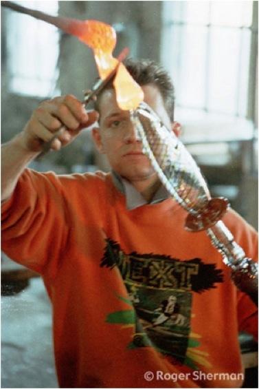 A Moretti Glassblower in Venice