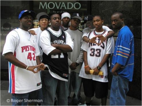 Seven guys on 57th Street