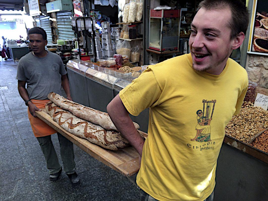 Bread Delivery, Machne Yahuda Market